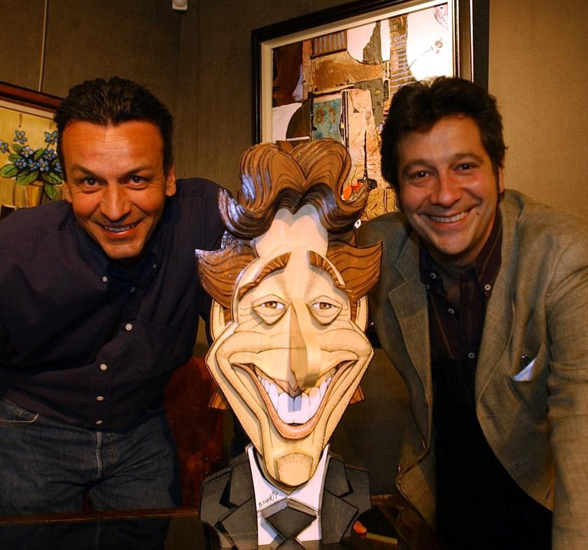 Laurent Gerra et Bruno Marty à la Galerie