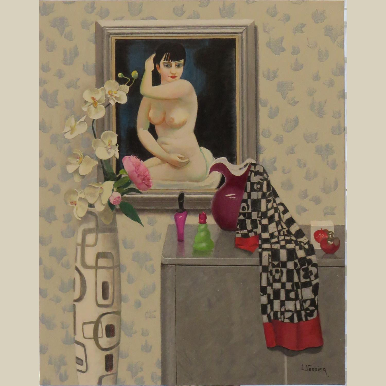 Lionel Verrier galerie lorella santiago AU MATIN home
